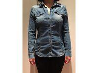 Jean shirt zara