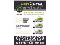 RUBBISH CLEARANCE WASTE DISPOSAL HOUSEHOLD BUSSINES GARDEN REMOVAL SAME DAY PICKUP ALL LONDON
