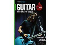 Rockschool RSL Awards Hot Rock Series Guitar Graded Exam Books Grade 2 and 4