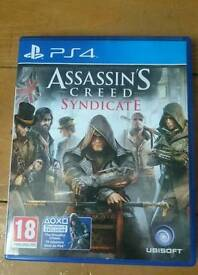3 x PS4 games for sale
