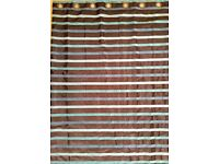Full length lined curtains. Excellent condition.