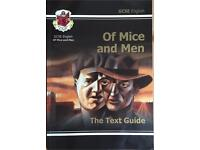 CGP GCSE English Of Mice and Men Text Guide