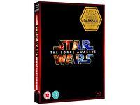 Star Wars The Force Awakens blu-ray 2016