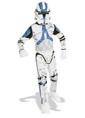 Boys Child STAR WARS Clone Trooper Costume Outfit ()