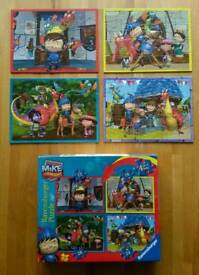 Mike the Knight jigsaws