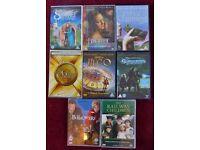 8 FAMILY & CHILDRENS DVD FILMS