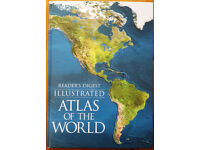 """Readers Digest """"Illustrated Atlas of the World"""""""