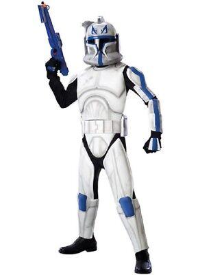Jungen Kind Star Wars Dlx Clonetrooper Capt. Rex - Star Wars Clone Trooper Rex Kostüm