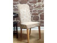 6 Dining chairs in excellent condition