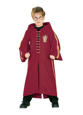 Boys Child HARRY POTTER Deluxe Quidditch Robe Costume
