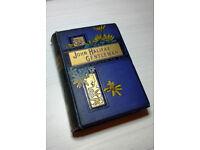 Vintage Antique Decor Book 19th Century Novel John Halifax, Gentleman