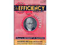 Vintage Business Magazine 1938 - Business Efficency 1938