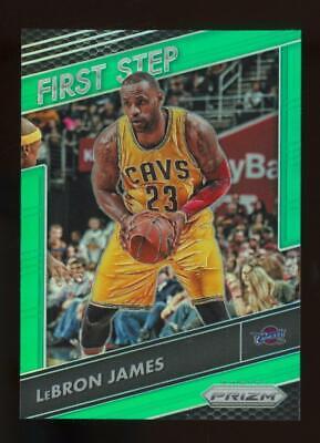 2016 Panini Prizm First Step Green #6 LeBron James