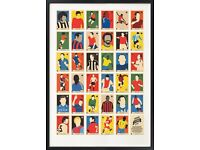 All Brand New 67 Inc Classic Posters RRP £40 selling for Only £10 New Football Legends A-Z