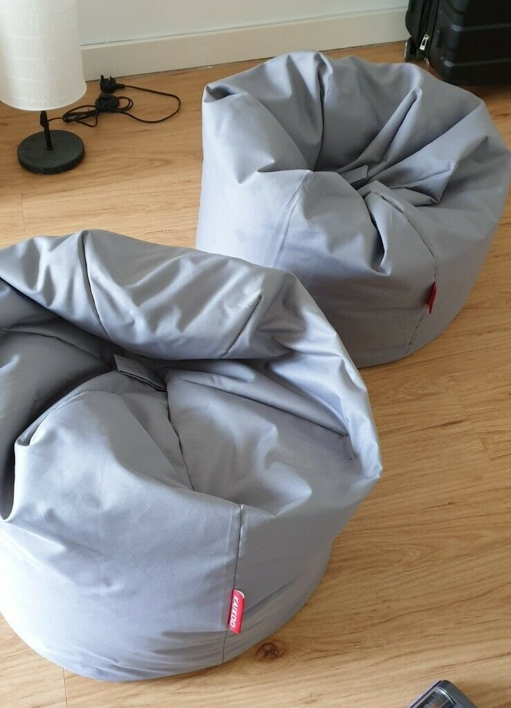 Astonishing Argos Home Large Grey Classic Beanbag X2 In Hendon London Gumtree Squirreltailoven Fun Painted Chair Ideas Images Squirreltailovenorg