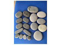 Massage hot stones + couch rolls + headbands