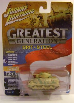 WWII M3 GRANT TANK THE GREATEST GENERATION VERSION A JOHNNY LIGHTNING for sale  Wilmington