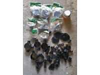 Selection of 20mm New Black Plastic Conduit Fittings (see pictures)