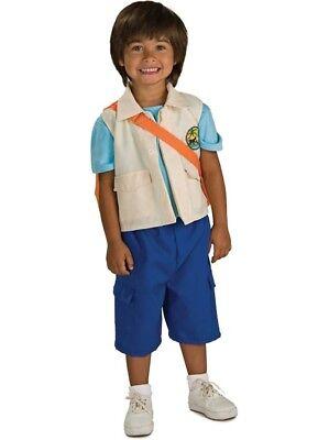 Jungen Kind Nickelodeon Nick Jr. Go Diego Go Deluxe Diego Reise - Deluxe Diego Kostüm