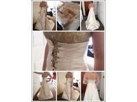 Fabio Gritti italian wedding dress size 10.