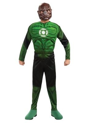 Boys Child The Green Lantern Deluxe Muscle Chest Kilowog Bad Guy Costume