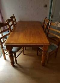 Table and chairs 5