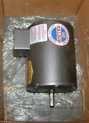 New Baldor Electric M3010 3-phase Ac Motor 12 Hp 208-230460 Vac 1725 Rpm