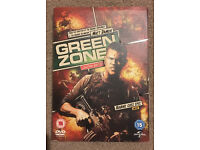 Green Zone DVD and San Andres DVD