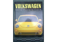 VOLKSWAGEN - Cars People Love by Max Wagner - Book with 88 Colour Plates