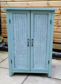 Shabby chic cabinet, retro style.