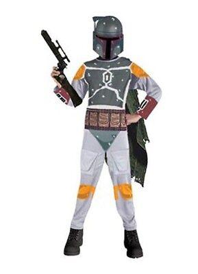 Childrens Star Outfit (Boys Child Licensed STAR WARS Boba Fett Costume)