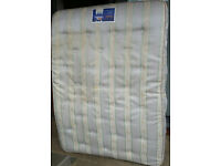 Silentnight Marcoil double spring mattress. 190 x 135cm. In good condition.