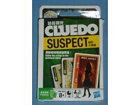 'Cluedo Suspect' Card Game (new)