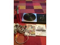 Nintendo Wii and dj hero 1n2
