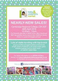 Baby & Childrens Market Nearly New Sale - Cambridge