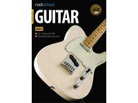 Rockschool RSL awards Guitar Graded exam Handbooks