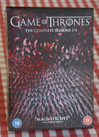 Game of Thrones Seasons 1-4 boxed set