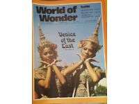 Vintage 1970's 'World of Wonder' magazine edition number 219.