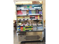 Shop display fridge, Mondial Elite, 2 - 3 years old, large, needs new compressor, buyer collects