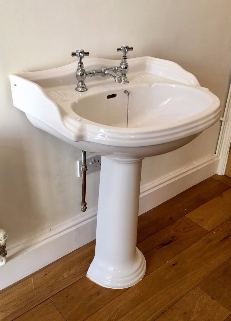 Genial Victorian Style Bathroom Sink, Pedestal And Taps | In Moseley ...