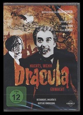 DVD NACHTS WENN DRACULA ERWACHT - CHRISTOPHER LEE & KLAUS KINSKI UNGEKÜRZT *NEU* online kaufen