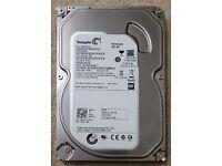 """Seagate 500 GB 3.5"""" hard drive"""