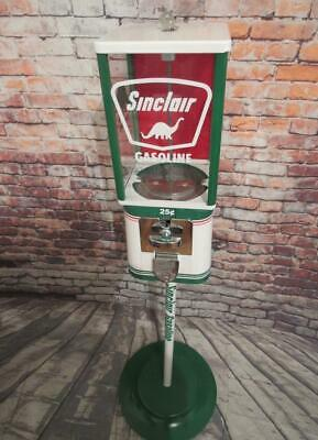 vintage gumball machine Sinclair gas man cave game room bar accessories man gift