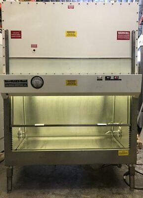 Baker Sg-400 4ft A2 Class2 Biosafety Cabinet Adjustable Height New Hepa Filter