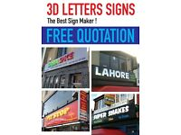 Shop Front Sign/3D Letters / Light Box / Sign Board
