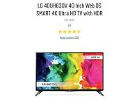 LG 40uh630v brand new UHD TV