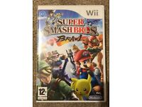 Nintendo Wii Super Smash Bros Brawl