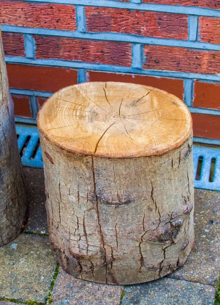 £45 ONO: 2x Decorative Tree Trunk / Log for displays, shelves, shop windows etc