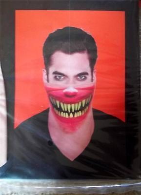 New Bandana Mask Gory Halloween Realistic Wicked Teeth Easy Costume (Easy Halloween Mask)