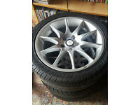 "Smiths Alloy Wheels Audi A3 A4 A5 A6 A7 A8 S2 S3 S4 S5 S6 S7 , 17"" 5X112 alloys wheel 215 45 17"